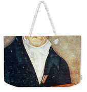 Alessandro Volta, Italian Physicist Weekender Tote Bag by Science Source