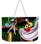 Alice In Wonderland Weekender Tote Bag