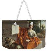 Allegory Of Geometry Weekender Tote Bag