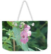 Alpine Wildflower Weekender Tote Bag