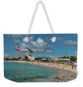 American Airlines At St. Maarten Weekender Tote Bag