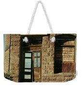 American Pool Hall  Version 2 Facade Ghost Town Jerome Arizona 1968 Weekender Tote Bag