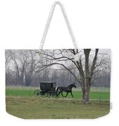 Amish Buggy Weekender Tote Bag