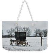 Amish Buggy Near Shipshe Weekender Tote Bag
