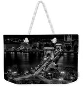 An Evening In Budapest Weekender Tote Bag