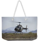 An Oh-58 Kiowa Helicopter Of The U.s Weekender Tote Bag