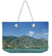 Areia Branca Tropical Beach View Near Dili In East Timor Weekender Tote Bag