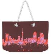 Auckland New Zealand Skyline Weekender Tote Bag