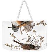 Audubon: Sparrow, (1827-38) Weekender Tote Bag
