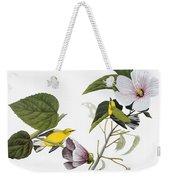 Audubon Warbler Weekender Tote Bag