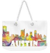 Austin Texas Skyline Weekender Tote Bag