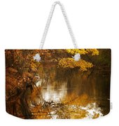 Autumn Reflected Weekender Tote Bag