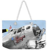 B-17g Flying Fortress Sentimental Journey 2 Avra Valley Arizona 1991 Color Added 2008 Weekender Tote Bag