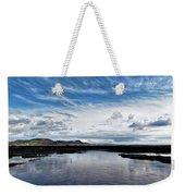 Back Beach 2 - Lyme Regis Weekender Tote Bag