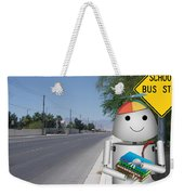 Back To School Little Robox9 Weekender Tote Bag