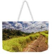 Bali Landscape Weekender Tote Bag