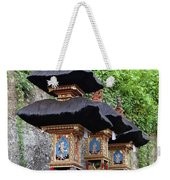 3 Bali Shrines Weekender Tote Bag