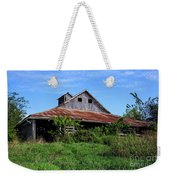 Barn In The Blue Sky Weekender Tote Bag
