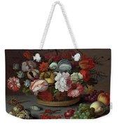 Basket Of Flowers Weekender Tote Bag