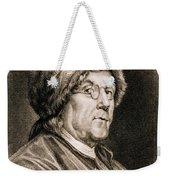 Benjamin Franklin, American Polymath Weekender Tote Bag by Science Source