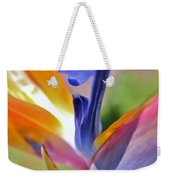 3 Bird Of Paradise Macro Weekender Tote Bag
