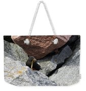 Black Guillemot Weekender Tote Bag