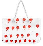 Blood Droplet Weekender Tote Bag