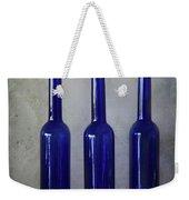 3 Blue Bottles Weekender Tote Bag