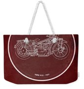 Bmw R32 1923 - For Some There's Therapy, For The Rest Of Us There's Motorcycles Weekender Tote Bag