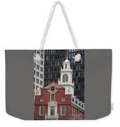 Boston Old State House Weekender Tote Bag