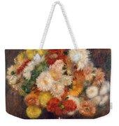 Bouquet Of Chrysanthemums Weekender Tote Bag
