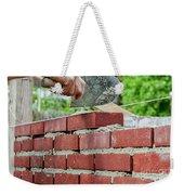 Bricklaying Weekender Tote Bag