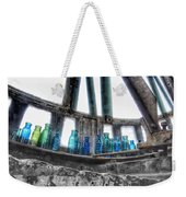 Bromo Seltzer Vintage Glass Bottles Weekender Tote Bag