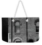 Burlington North Carolina - Arches And Alley Bw Weekender Tote Bag