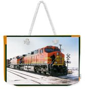 Burlington Northern Santa Fe Bnsf - Railimages@aol.com Weekender Tote Bag