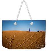 Tracks In The Sahara Weekender Tote Bag