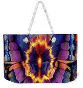 Celestial Butterfly Weekender Tote Bag