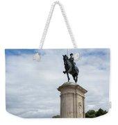 Chantilly Castle Garden In France Weekender Tote Bag