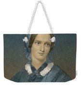 Charlotte Bronte, English Author Weekender Tote Bag