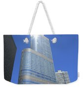 Chicago Skyscraper Weekender Tote Bag