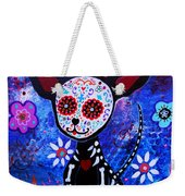 Chihuahua Day Of The Dead Weekender Tote Bag