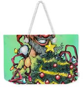 Christmas Elf Weekender Tote Bag