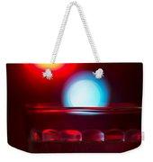 Christmas Theme Glass Of Water Weekender Tote Bag
