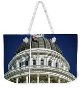 City Views Around California State Capitol Building In Sacrament Weekender Tote Bag