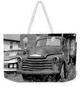 Old And Forgotten - Bw Weekender Tote Bag