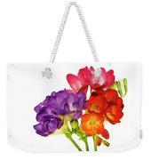 Colorful Freesias Weekender Tote Bag