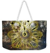 Conceptual Illustration Of Atomic Clock Weekender Tote Bag