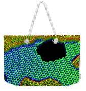 3-d Rendering, Graphene Hole Weekender Tote Bag