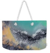 Degraded Landscape In Poland. Destroyed Land. View From Above.  Weekender Tote Bag