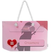Does She Love Me Or Not? Weekender Tote Bag